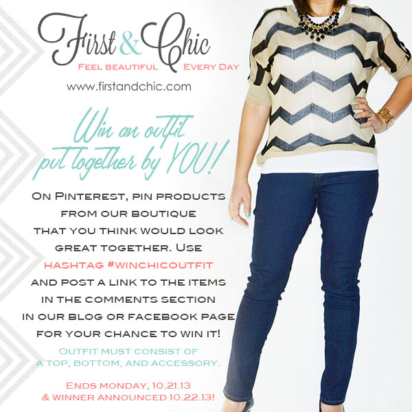 Style Board Outfit Contest - First & Chic