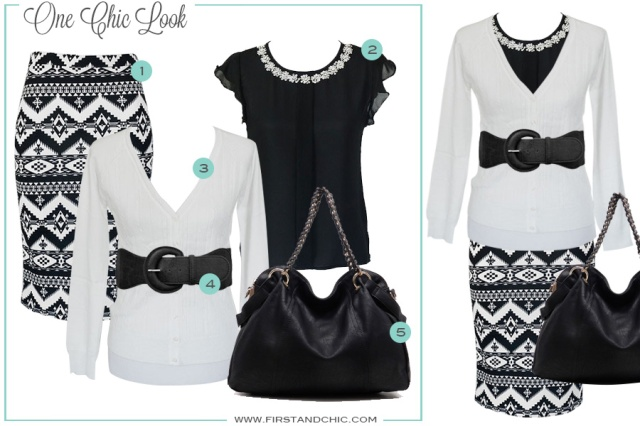 One Chic Look from First & Chic Boutique