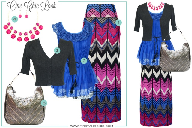 Chic Look Style Board from First & Chic