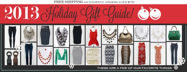 Holiday Picks from First & Chic