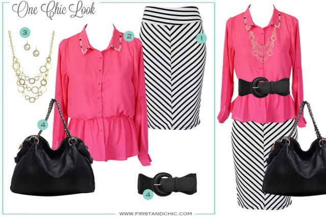 First & Chic Boutique - Fashion Styleboard