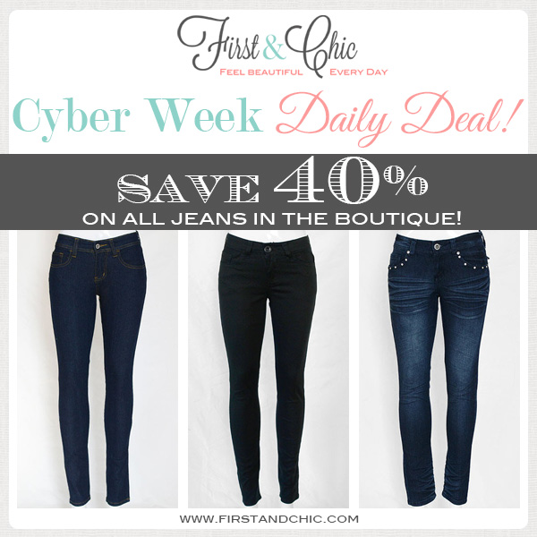 First & Chic - Modern and trendy online boutique for women - Cyber Week Daily Deal #4